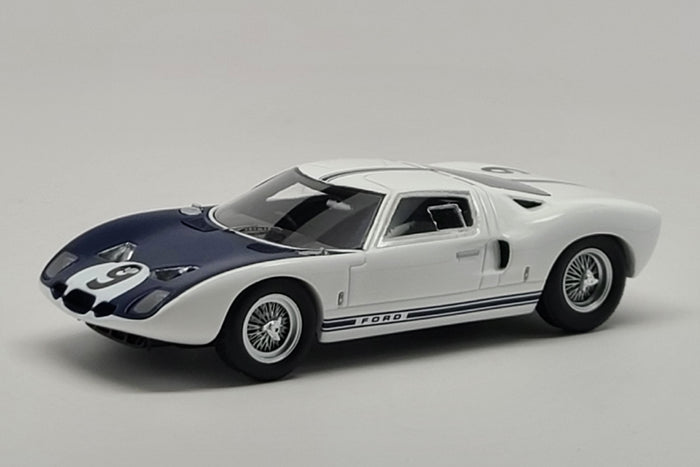 Ford GT40 (Chassis # GT/101) | 1:43 Scale Model Car by Spark | Front Quarter