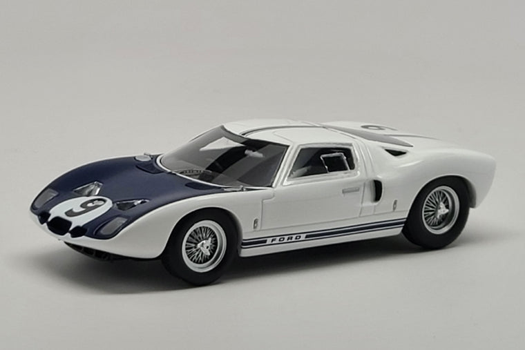 Ford GT40 (Test Car #GT/101) - 1:43 Scale Model Car by Spark