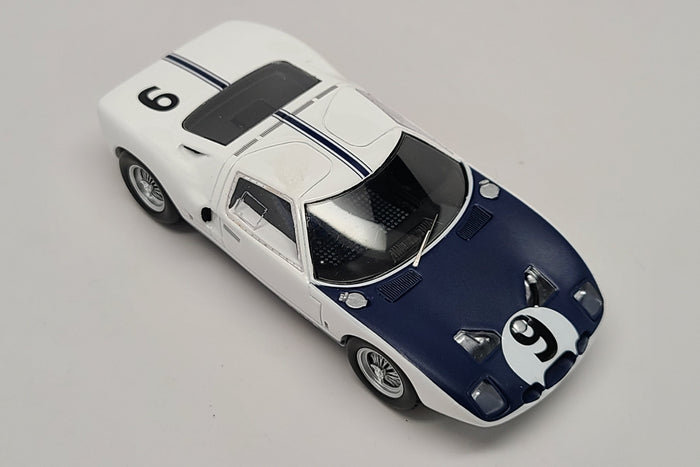 Ford GT40 (Chassis # GT/101) | 1:43 Scale Model Car by Spark | Overhead View