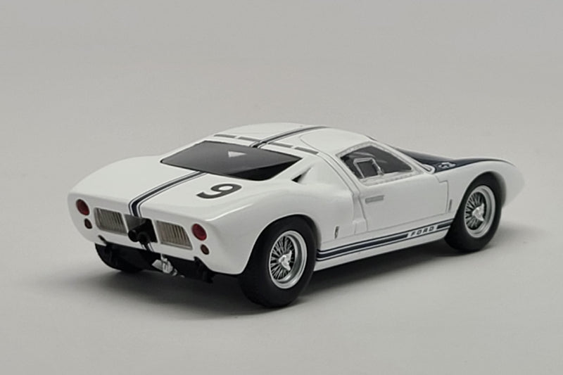 Ford GT40 (Chassis # GT/101) | 1:43 Scale Model Car by Spark | Rear Quarter