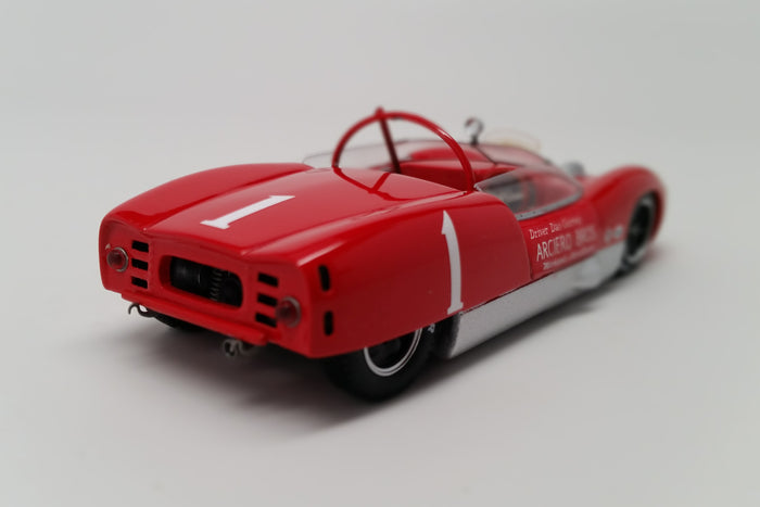 Lotus 19 Climax (1961 Nassau Trophy) | 1:43 Scale Model Car by Spark | Rear Quarter