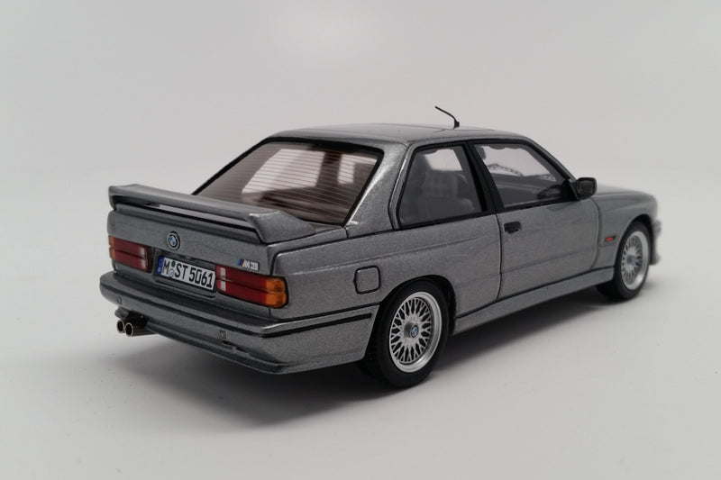 BMW M3 Evolution II (1988) | 1:43 Scale Model Car by Spark | Rear Quarter