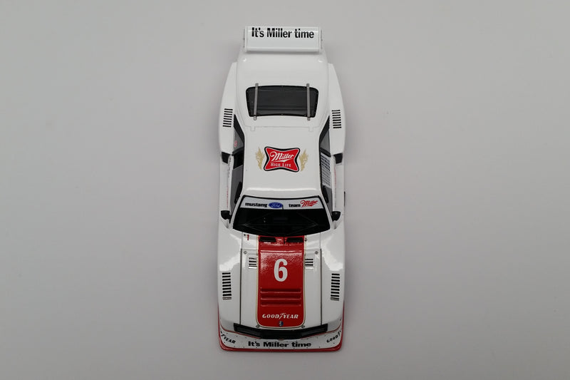 Ford Mustang GTX (1981 Brainerd 200km) | 1:43 Scale Model Car by Spark | Overhead