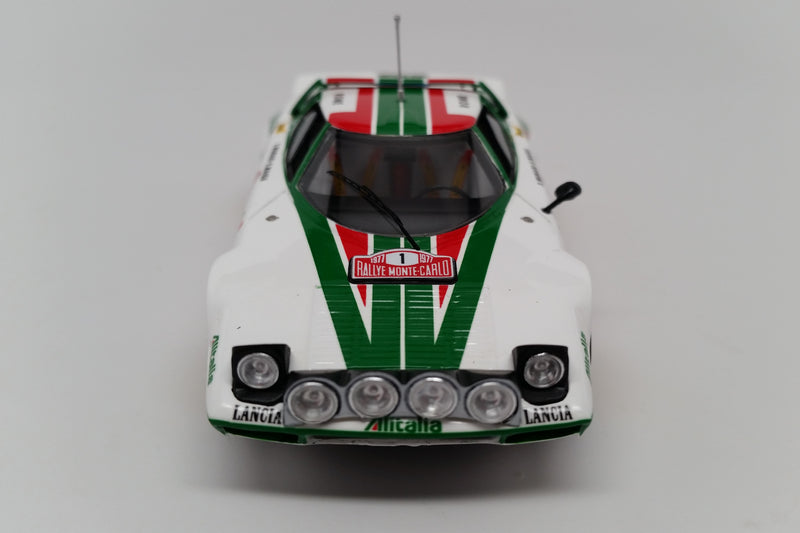 Lancia Stratos HF (1977 Rally Monte Carlo) | 1:43 Scale Model Car by Spark | Front View