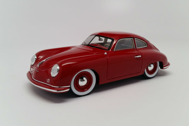 Porsche 356 (1951) | 1:43 Scale Model Car by Spark | Front Quarter