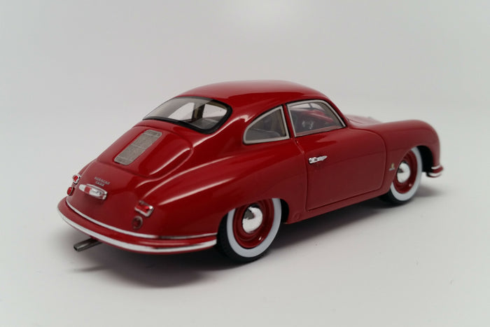 Porsche 356 (1951) | 1:43 Scale Model Car by Spark | Rear Quarter