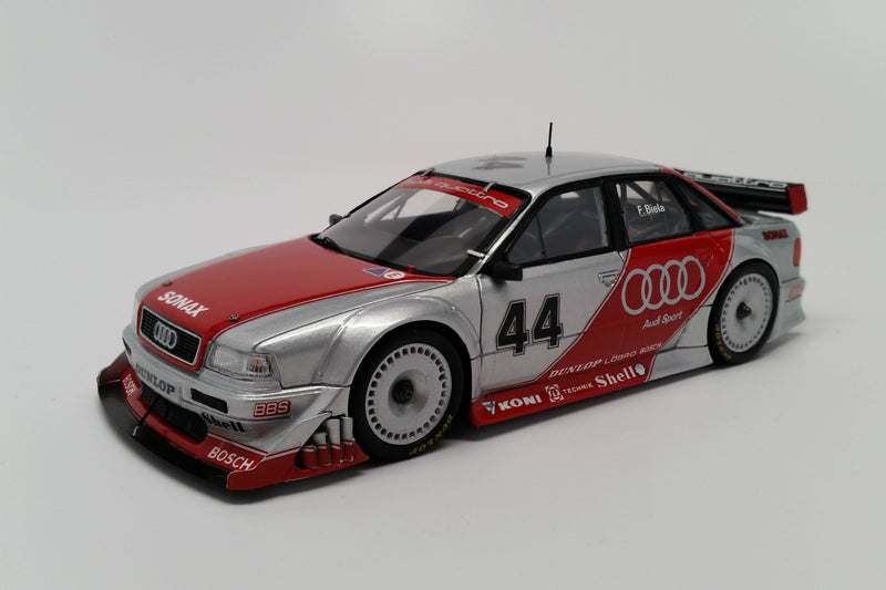 Audi 80 quattro 2.5 DTM Prototype | 1:43 Scale Model Car by Spark | Front Quarter