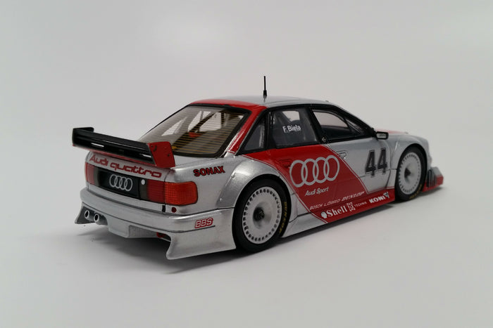 Audi 80 quattro 2.5 DTM Prototype | 1:43 Scale Model Car by Spark | Rear Quarter