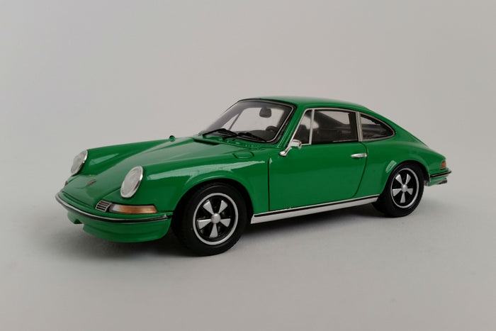 Porsche 911S 2.4 (1972) | 1:43 Scale Model Car by Spark | Front Quarter