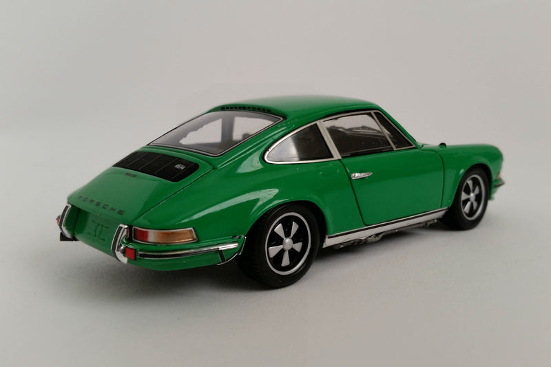Porsche 911S 2.4 (1972) | 1:43 Scale Model Car by Spark | Rear Quarter