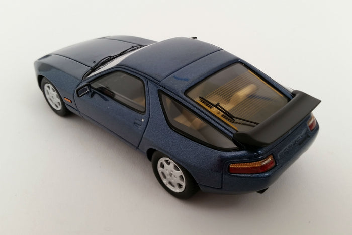 Porsche 928 GT (1989) | 1:43 Scale Model Car by Spark | Overhead