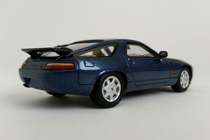 Porsche 928 GT (1989) | 1:43 Scale Model Car by Spark | Rear Quarter