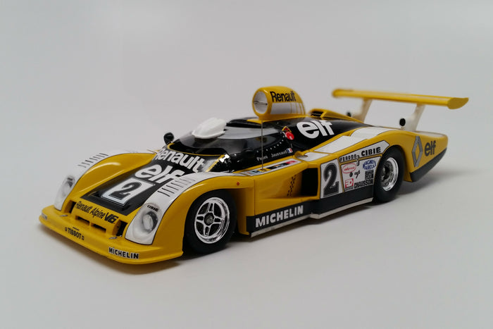 Renault Alpine A442B (1978 Le Mans Winner) | 1:43 Scale Model Car by Spark | Front Quarter