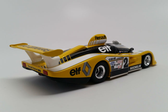 Renault Alpine A442B (1978 Le Mans Winner) | 1:43 Scale Model Car by Spark | Rear Quarter