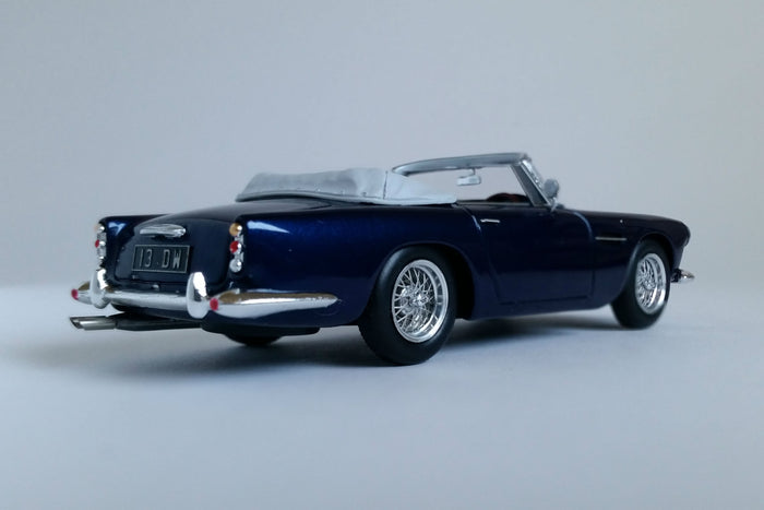 Aston Martin DB4 Convertible | 1:43 Scale Model Car by Spark | Rear Quarter