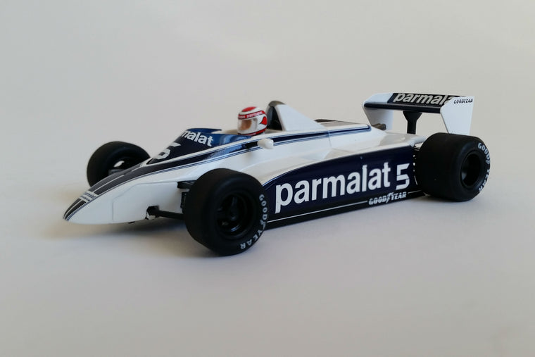 Brabham BT49 (Nelson Piquet 1980 USGP West) - 1:43 Scale Model Car