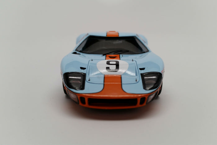 Ford GT40 (1968 Le Mans Winner) | 1:43 Scale Model Car by Spark | Front View