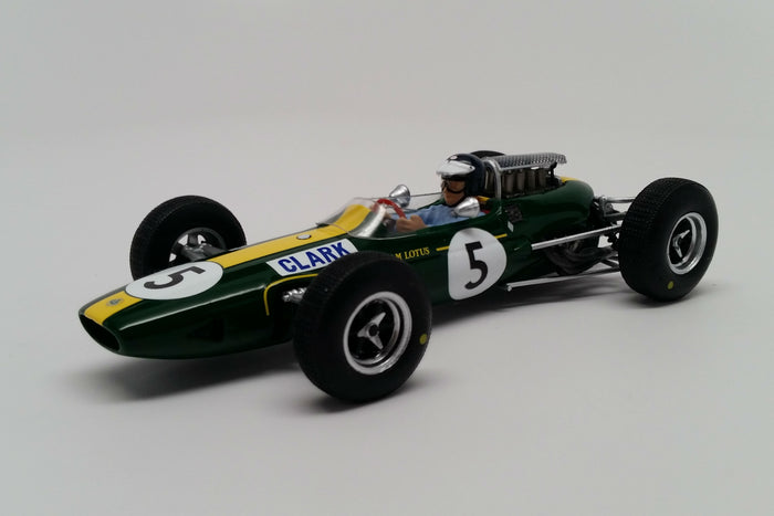 Lotus 33 (1965 British Grand Prix) | 1:43 Scale Model Car by Spark | Front Quarter