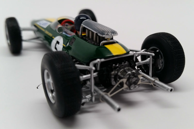 Lotus 33 (1965 British Grand Prix) | 1:43 Scale Model Car by Spark | Rear Detail