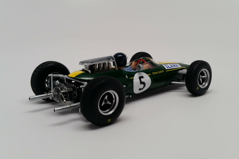 Lotus 33 (1965 British Grand Prix) | 1:43 Scale Model Car by Spark | Rear Quarter