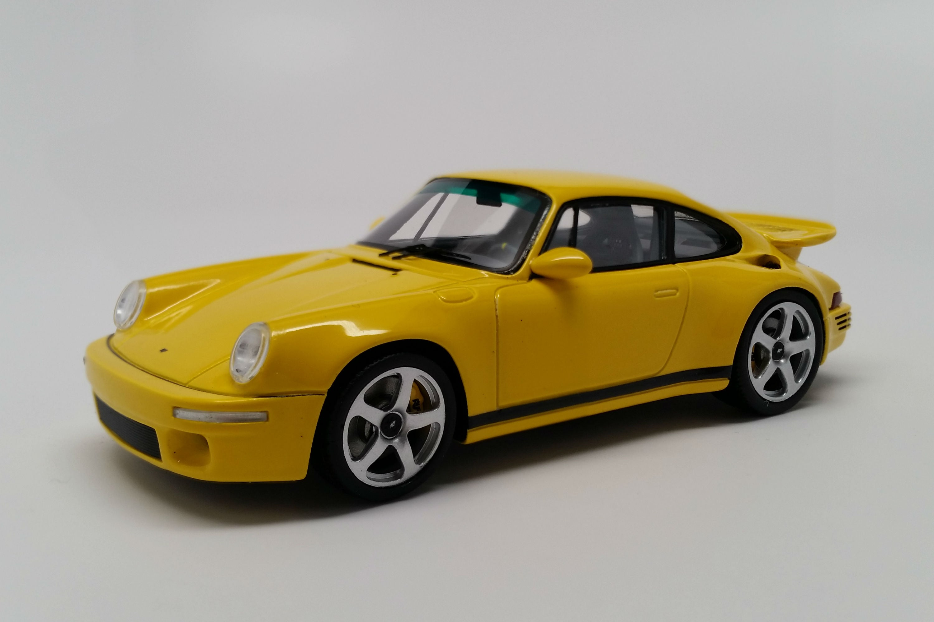 Ruf CTR (2017) | 1:43 Scale Model Car by Spark | Front Quarter