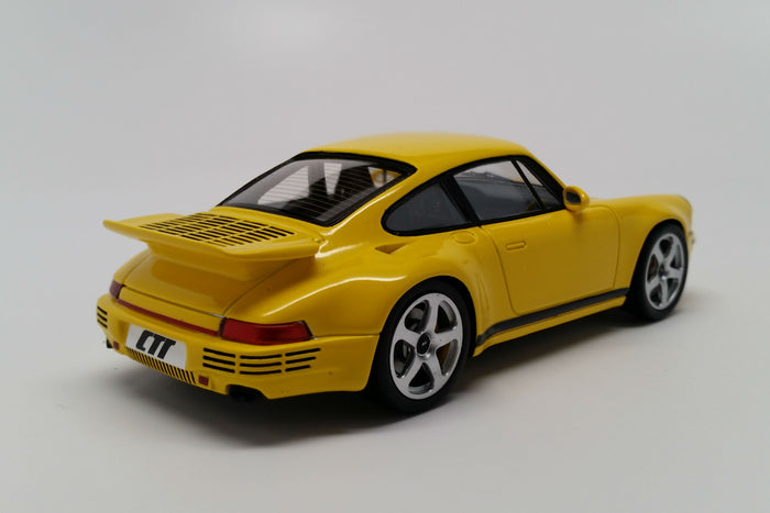 Ruf CTR (2017) | 1:43 Scale Model Car by Spark | Rear Quarter