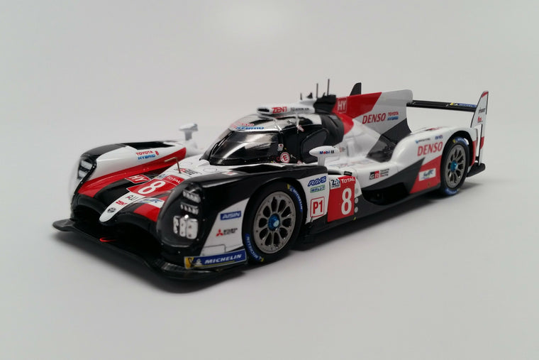 Toyota TS050 Hybrid (2019 Le Mans Winner) - 1:43 Scale Model Car