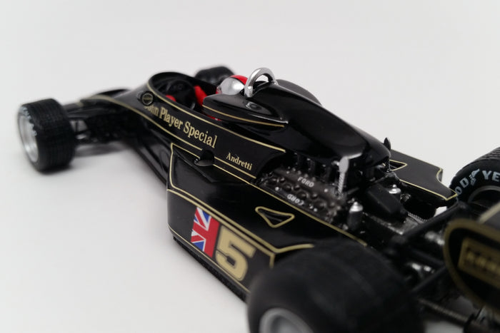 Lotus 77 (1976 Japanese GP) | 1:43 Scale Model Car by Spark | Livery Detail