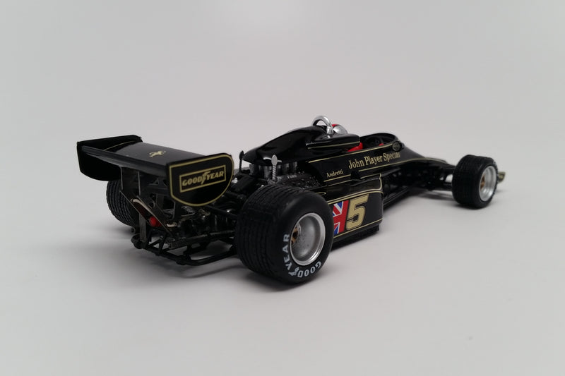 Lotus 77 (1976 Japanese GP) | 1:43 Scale Model Car by Spark | Rear Quarter