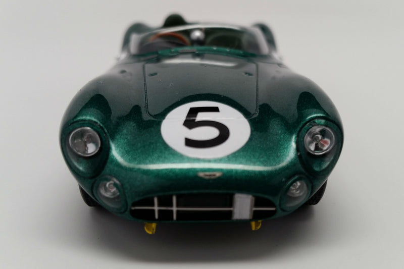 Aston Martin DBR1 (1959 Le Mans Winner) | 1:43 Scale Model Car by Spark | Front View