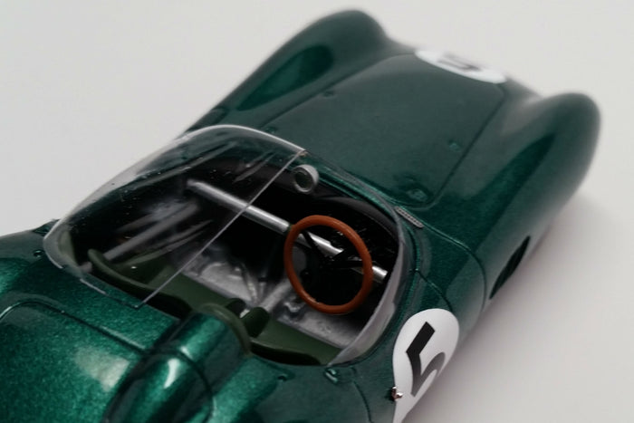 Aston Martin DBR1 (1959 Le Mans Winner) | 1:43 Scale Model Car by Spark | Interior