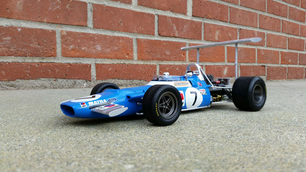 Matra MS80 High Wing | 1:18 Scale Model Car by Spark | Front Quarter