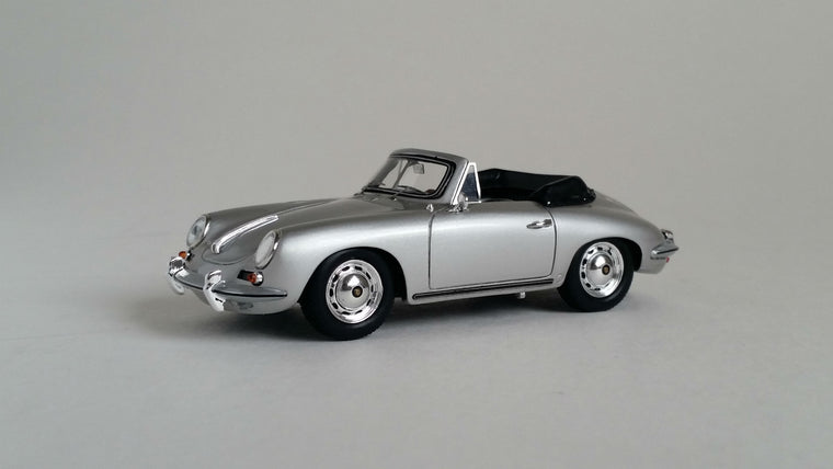 Porsche 356 Carrera 2 Cabriolet - 1:43 Scale Model Car
