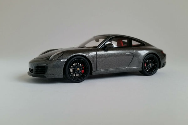 Porsche 991.2 Carrera S | 1:43 Scale Model Car by Spark | Front Quarter