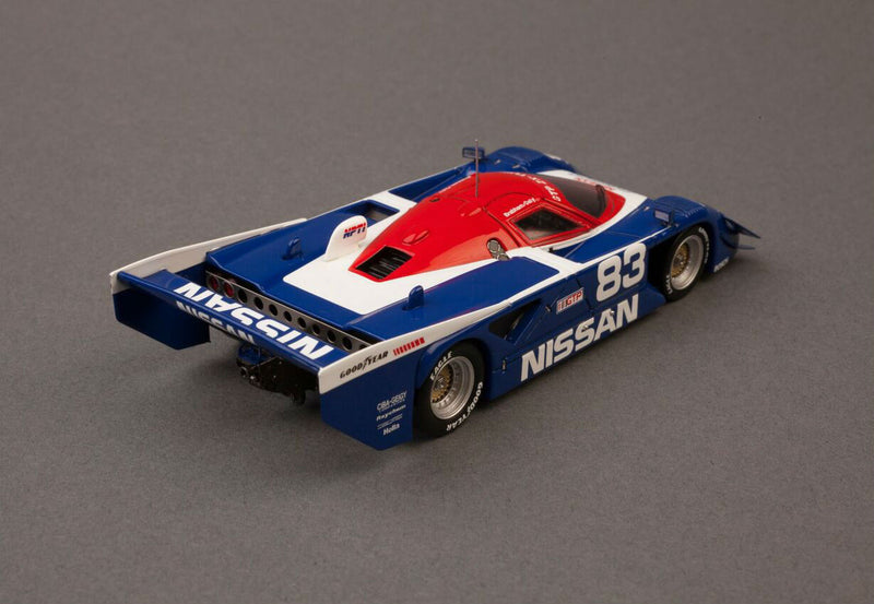 Nissan GTP ZX-Turbo 1990 Sebring Winner | 1:43-Scale Model Car by Spark | Rear Quarter