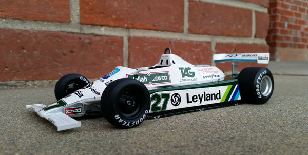 Williams FW07B Formula 1 | 1:18 Scale Model Car by Spark | Front Quarter