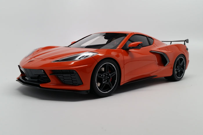 Chevrolet Corvette (2020) | 1:18 Scale Model Car by TopSpeed | Front Quarter