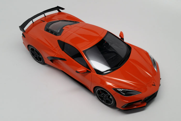Chevrolet Corvette (2020) | 1:18 Scale Model Car by TopSpeed | Overhead