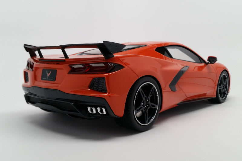 Chevrolet Corvette (2020) | 1:18 Scale Model Car by TopSpeed | Rear Quarter