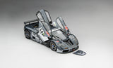 McLaren F1 GTR 1995 Le Mans Winner | 1:18 Scale Diecast Model Car by TSM | Front Open