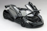 McLaren P1 Amethyst Black | 1:18 Scale Diecast Model Car by TSM | Front Open