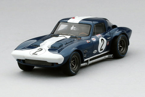 Chevrolet Corvette Grand Sport (Sebring 12 Hours) | 1:43 Scale Model Car by TSM | Front Quarter