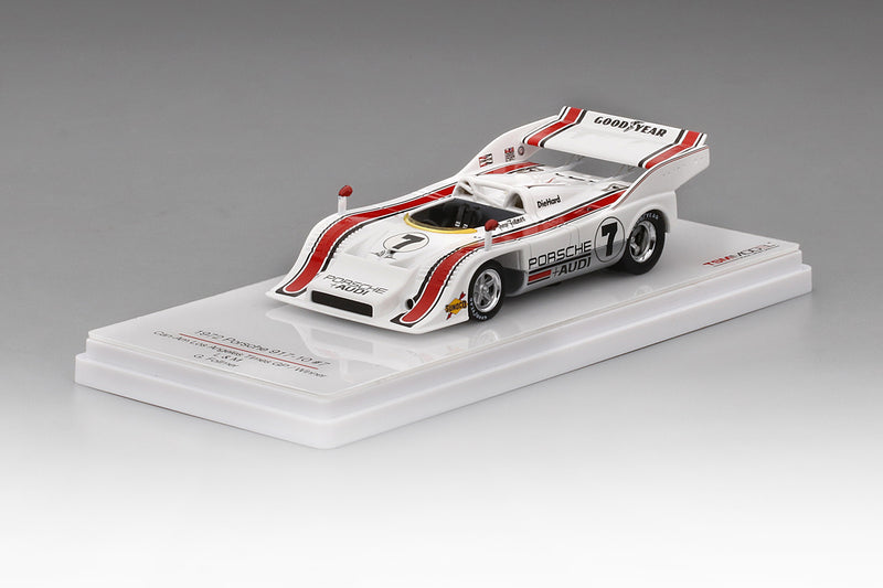 Porsche 917-10 Can Am 1972 Los Angeles GP Winner | 1:43 Scale Resin Model Car by TSM | Display Base