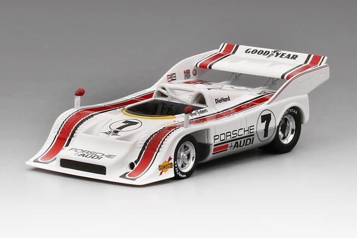 Porsche 917-10 Can Am 1972 Los Angeles GP Winner | 1:43 Scale Resin Model Car by TSM | Front Quarter