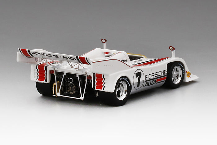 Porsche 917-10 Can Am 1972 Los Angeles GP Winner | 1:43 Scale Resin Model Car by TSM | Rear Quarter
