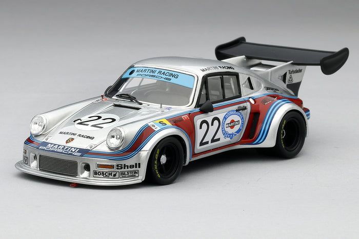 Porsche 911 RSR Turbo 1974 Le Mans | 1:43 Scale Model Car by TSM | Front Quarter