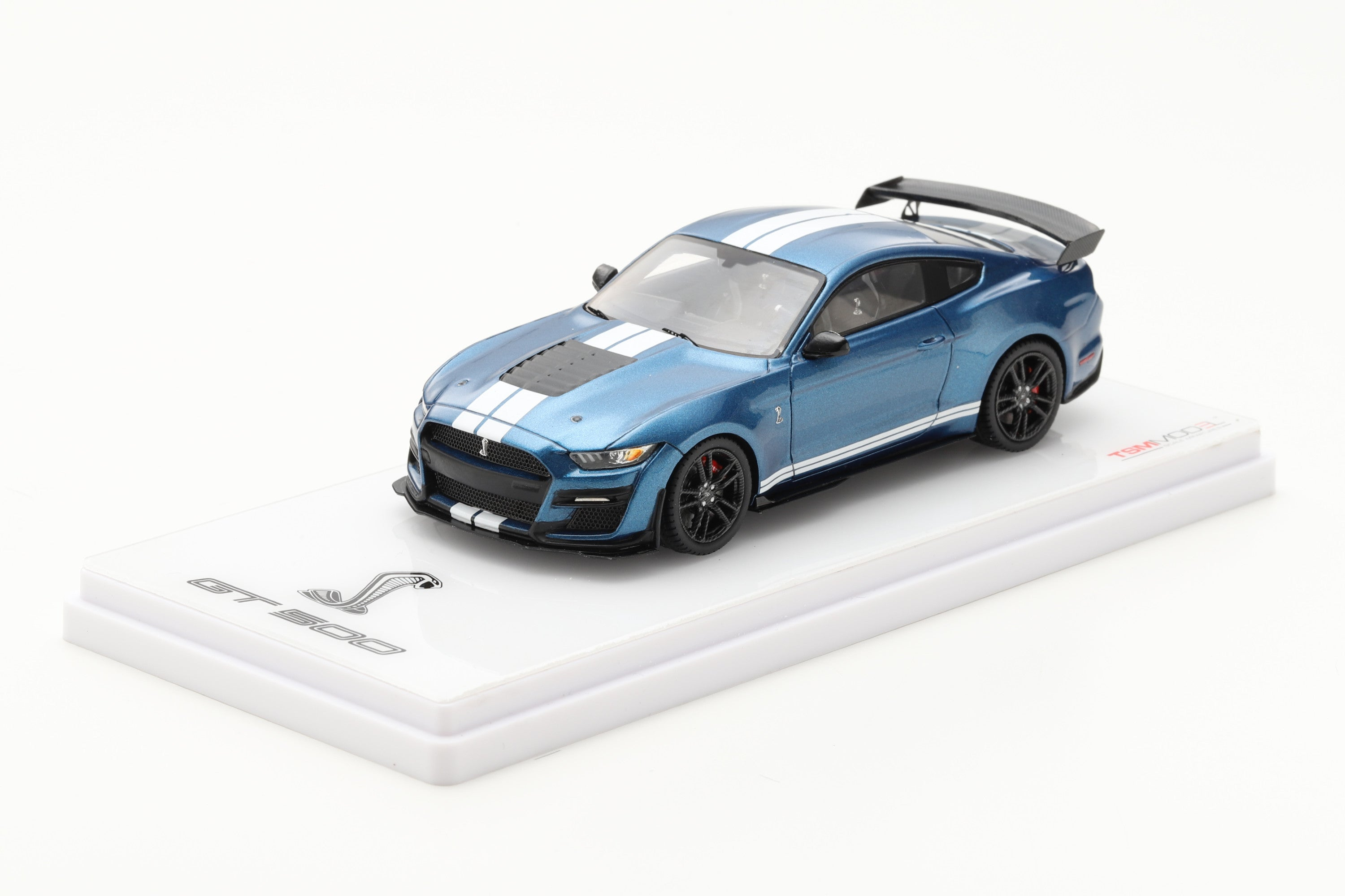 Ford Mustang Shelby GT500 (2020) | 1:43 Scale Model Car by TSM | Front Quarter