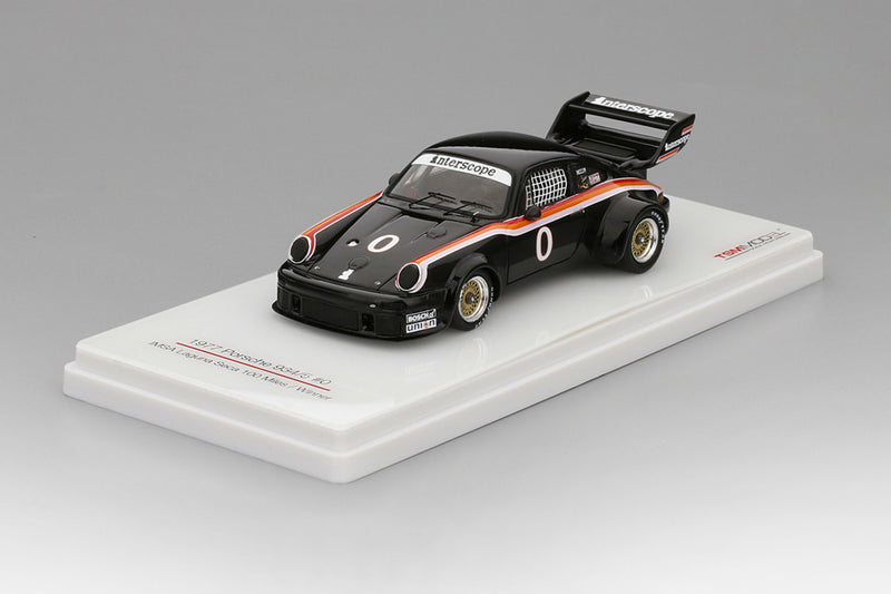 Porsche 934/5 (1977 IMSA Laguna Seca 100 Winner) | 1:43 Scale Model Car by TSM | Base