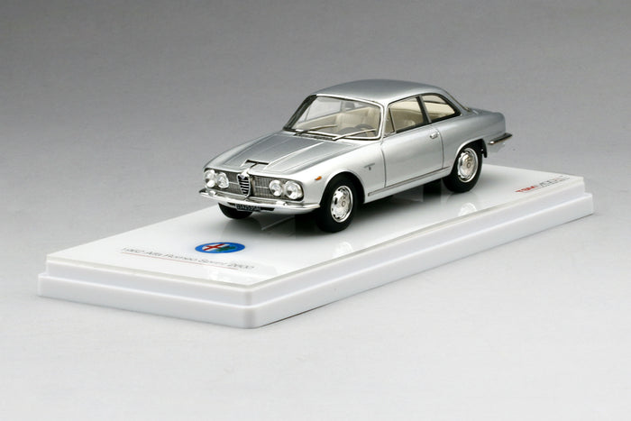 Alfa Romeo 2600 Sprint | 1:43 Scale Model Car by TSM | Display Base