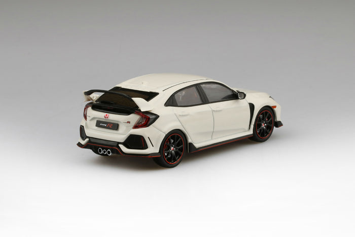 Honda Civic Type R (2017) | 1:43 Scale Diecast Model Car by TSM | Rear Quarter
